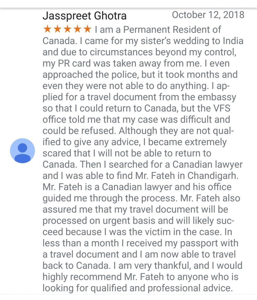 TD - Client Testimonial